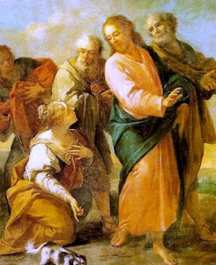 Incontro di Cristo con la Cananea