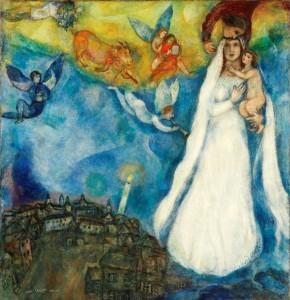 Chagall-La-madonna-del-villaggio-X