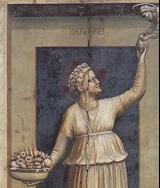 La Carità (Giotto - Cappella degli Scrovegni - Padova)